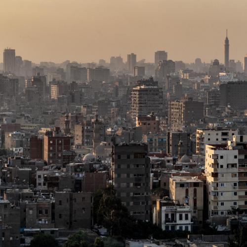 Cairo, stadslandschap